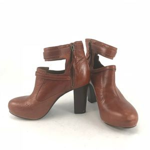 Anthropologie Schuler & Sons Philadelphia Booties